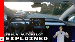 Tesla Autonomy Day Autopilot Full Self Driving With Model 3 Explained