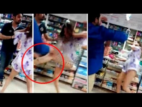 SHOCKING Video : Pooja Mishra's REAL Fight at Delhi store