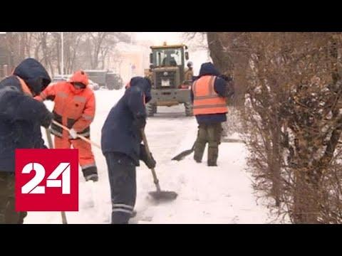 Дальневосточные регионы России накрыл снежный циклон - Россия 24