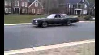 1974 Pontiac Catalina Burnout(with audio)