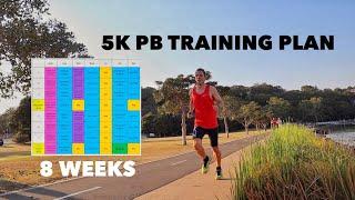 5k PB Training Plan screenshot 3