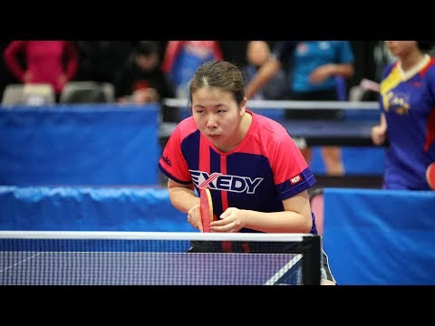 2017 US Open Table Tennis Championships - Women's Singles Quarterfinals - Table 1 (Day 3 Morning)