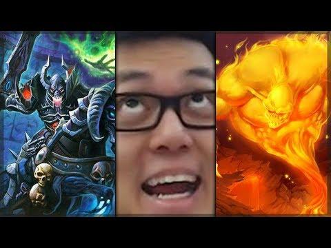 TRIPLE Legendary Warlock Arena Run