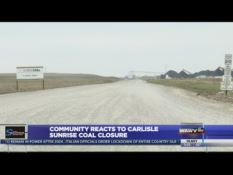 Sunrise Coal Mine In Carlisle To Close Permanently