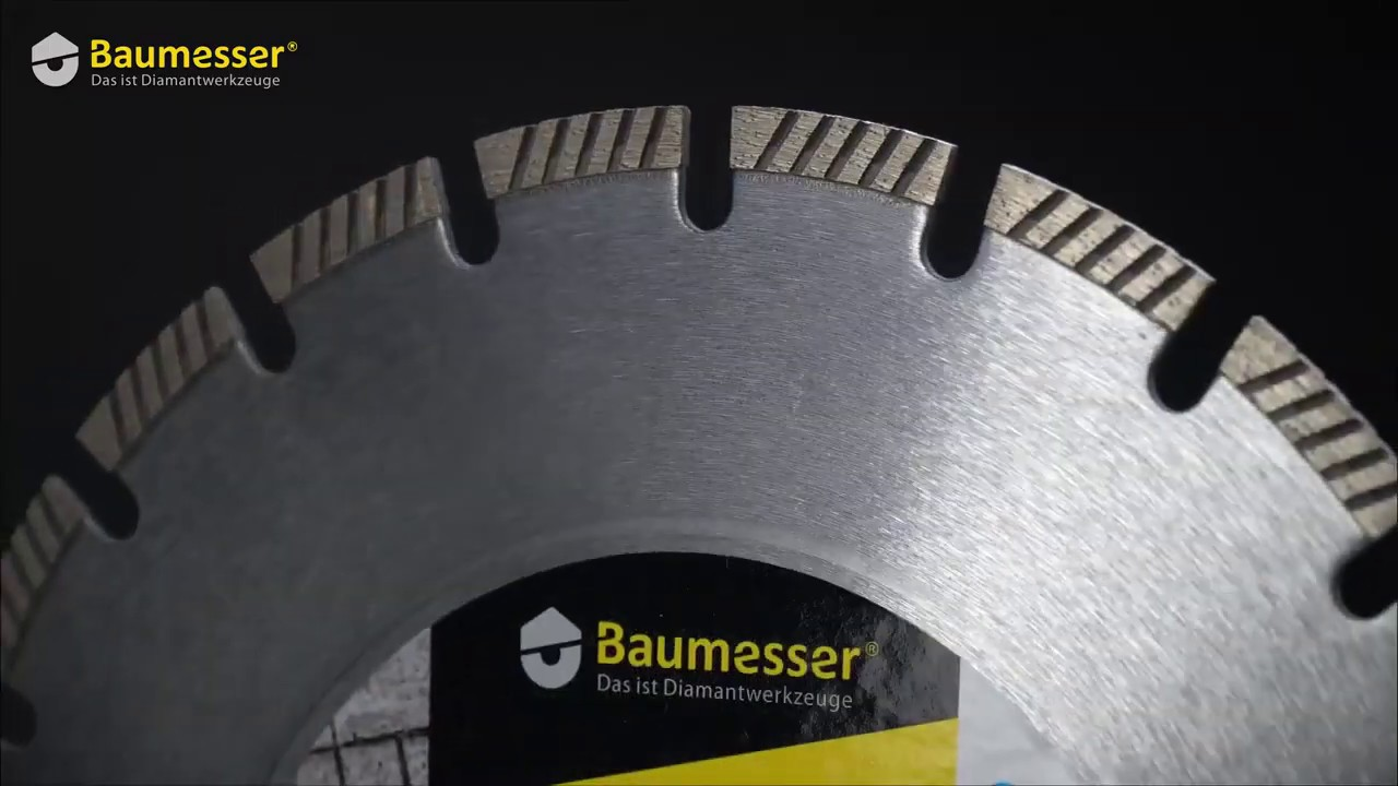 Алмазный круг Baumesser 350 Universal