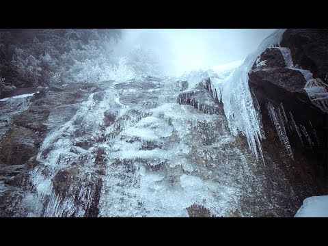 Ice Climbing on the Snoqualmie Mountain Trail