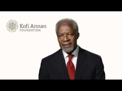 Welcome Message from Kofi Annan