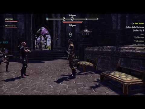 The Elder Scrolls Online || ASHLER - STEALTH ARTISAN - LIVE