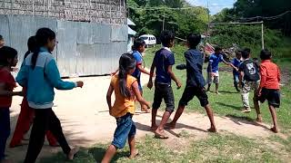 Lead the kids for playing football