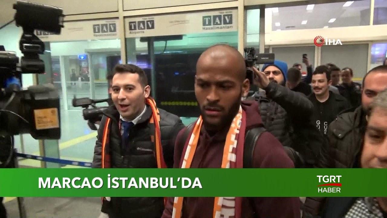Galatasaray'ın Yeni Transferi Marcao İstanbul'da