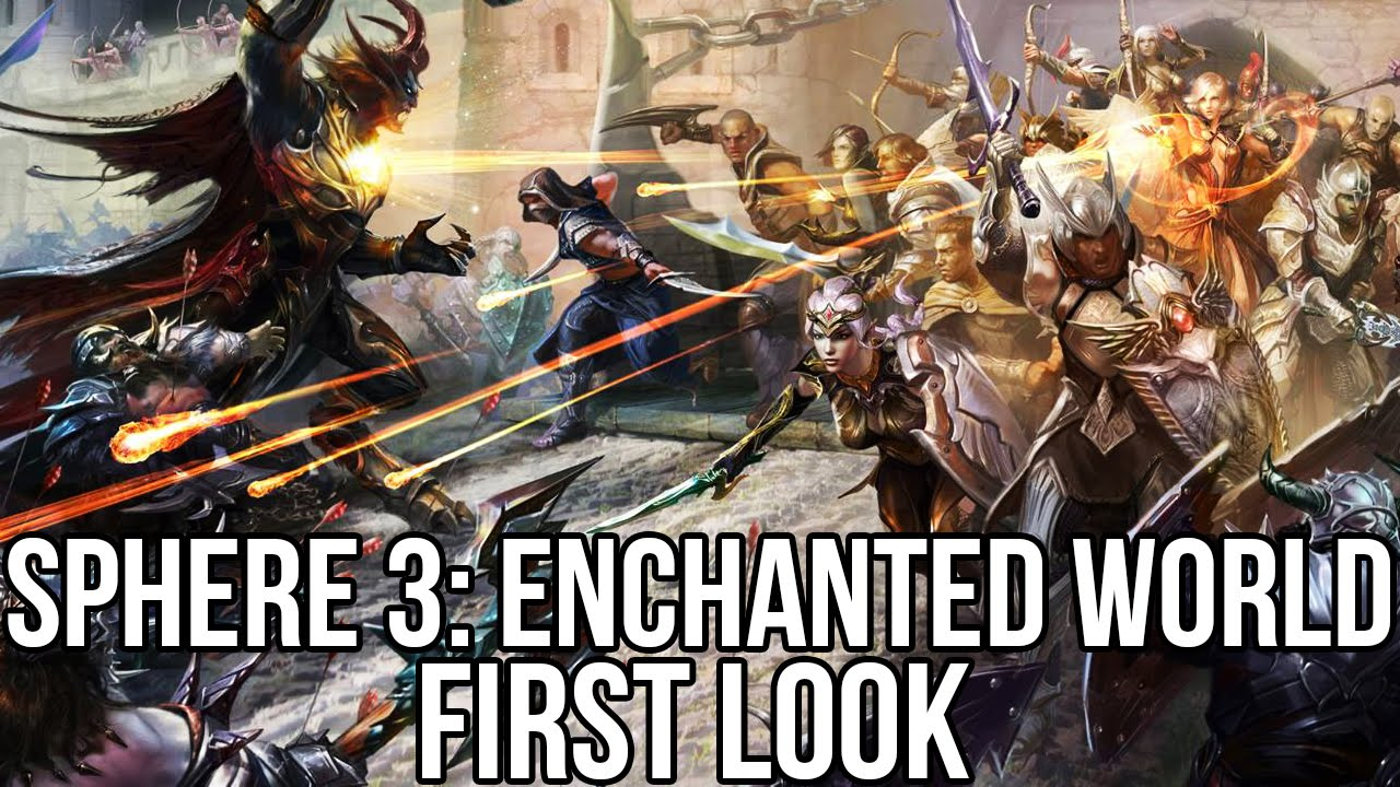 Sphere 3: Enchanted World (Free MMORPG): Watcha Playin' Gameplay First Look  - YouTube