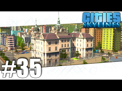 Cities Skylines - Cliff Town - Part #35