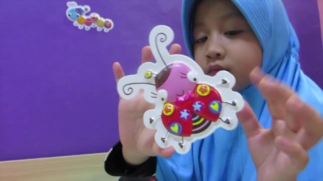 Mainan Anak Hello Kitty Wall Sticker Lifia Niala Room Decoration