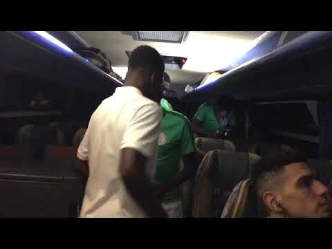 Super Eagles celebration party after the game against Cameroon