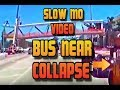 Video FIU Bridge Collapse Kids Bus Seconds From Death News