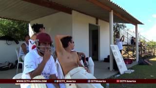 Cricket growing in popularity in Brazil