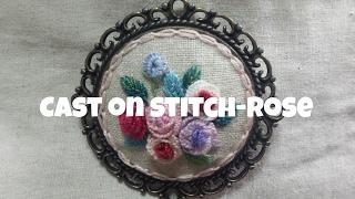 *홍진하의자수클래식* Cast on stitch (캐스트온 스티치) 자수기법 독학으로 배우기 동영상