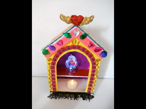 Papier mache Shrine and Altar