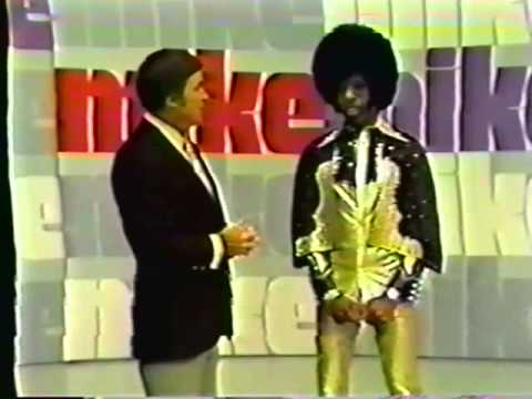 """Sly Stone co-hosts The Mike Douglas Show """"Loose Booty"""" + interview 7/18/74"""