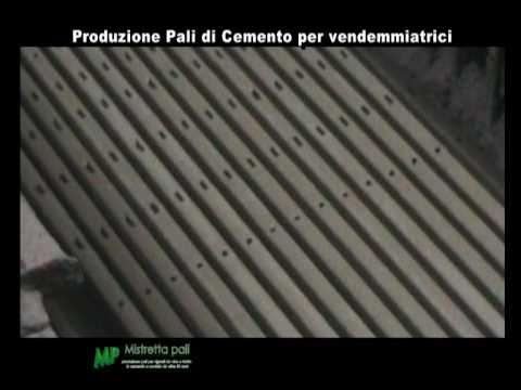 Produzione pali in cemento precompresso