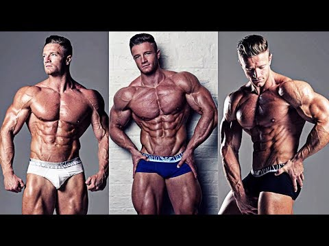 AEROSPACE ENGINEER & WBFF PRO GUY Alex Davies Workout