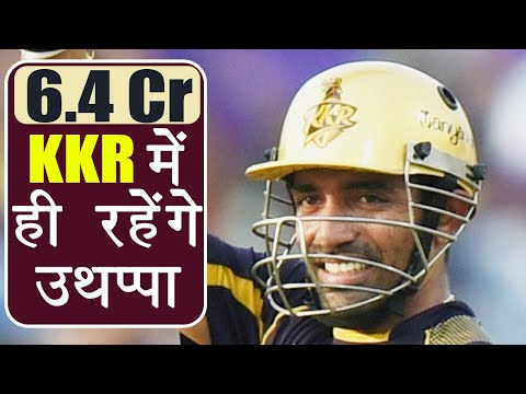 IPL Auction 2018: Robin Uthappa SOLD for 6.4 Crore to Kolkatta Knight Rider | वनइंडिया हिंदी