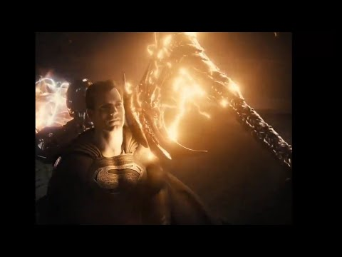 Black Superman VS Steppenwolf   Justice league Zack Snyder cut