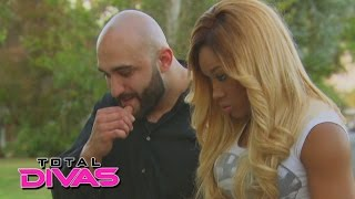 cameron confronts her brother and his friends total divas preview clip oct 5 2014
