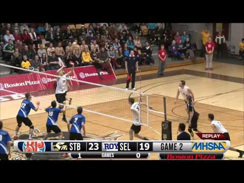 2014 Boston Pizza AAAA Provincial Varsity Boys Volleyball