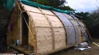 Man Builds €1,000 Tiny Home Using Open Source Design