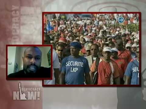 Kali Akuno on Democracy Now! Labor Victory in Guadeloupe After Six-Week Strike