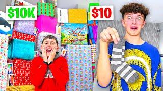 $10 VS $10,000 GIFT SWAP - Challenge
