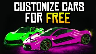 GTA 5 - How to Customize & Preview Cars in GTA 5 Online for FREE! (Glitches & Tricks)