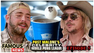 Post Malone Takes On Diplo In Episode 5 Of World Pong League | Famous News