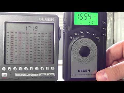 Degen DE 1106 VS 1103 VS 15 on Radio Kuwait 15540 Khz