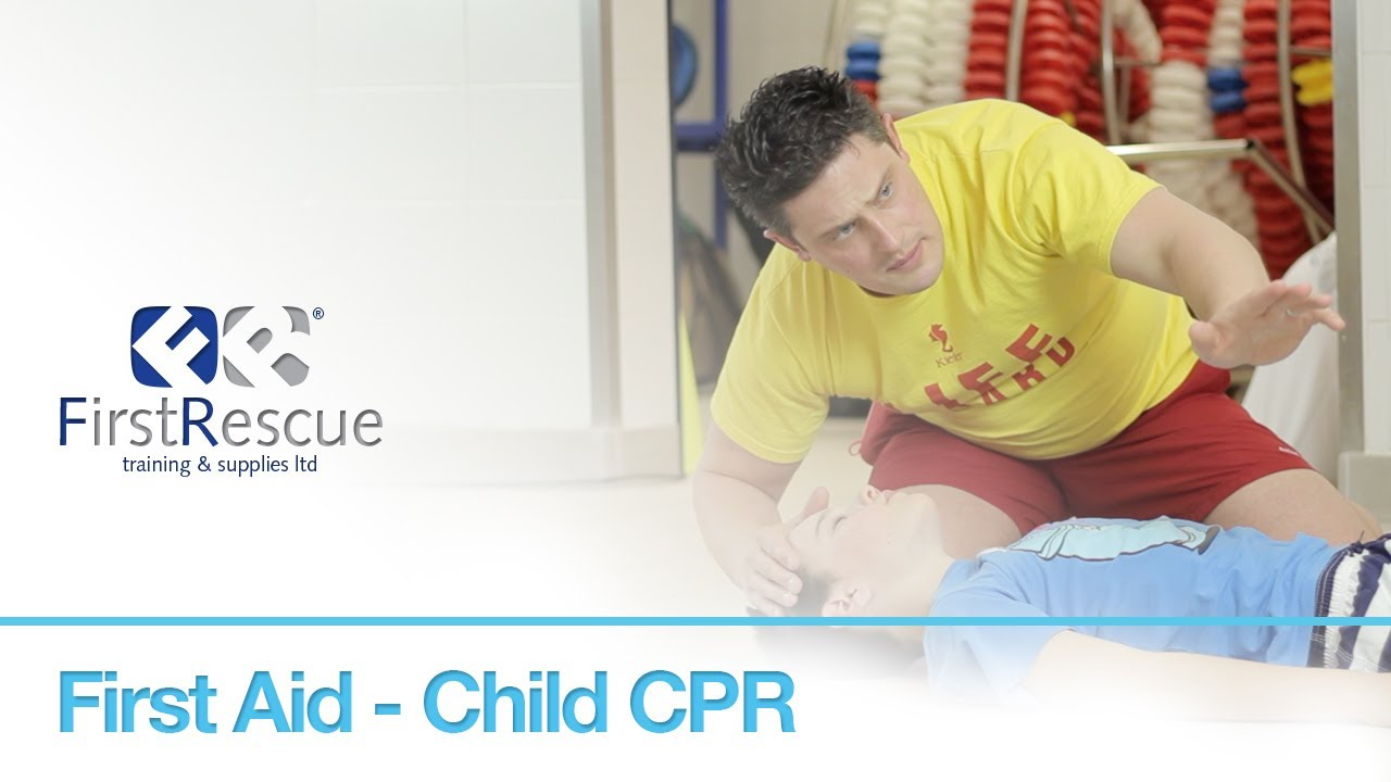 First Aid - Child CPR - YouTube