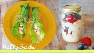 DIY After School Healthy Snacks! Thumbnail
