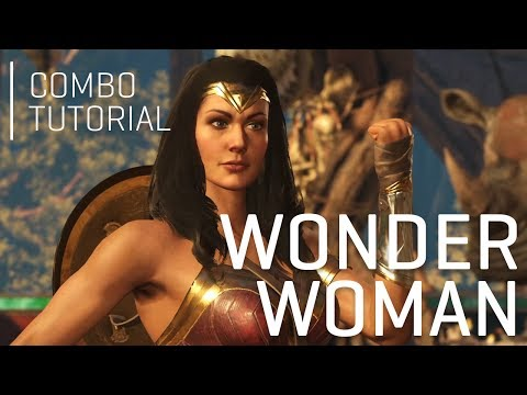 INJUSTICE 2: Wonder Woman Combo Tutorial (1 Meter)