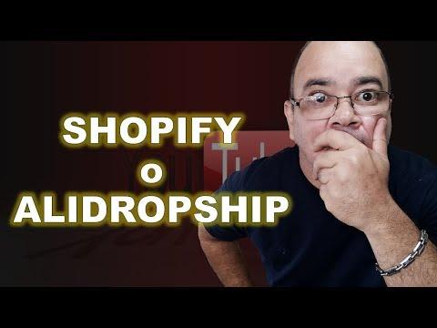 🤔 [Curso De Dropshipping] ALIDROPSHIP O SHOPIFY Cual Debería Tomar