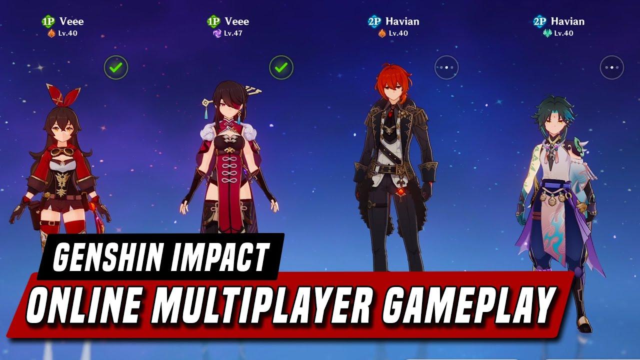 Genshin Impact Online Co Op Multiplayer Gameplay Youtube