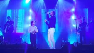 """David Bisbal con Raúl """"El Balilla"""" - Dígale (Concierto Murcia)"""