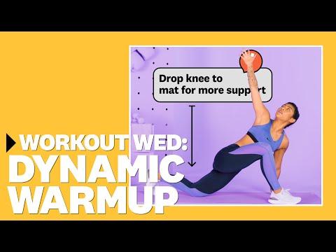 5-Minute Dynamic Warm Up With Betina Gozo | #WorkoutWednesday | Women's Health