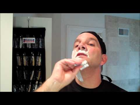 Bluebeard's Revenge Scimitar Safety Razor Shave and Review