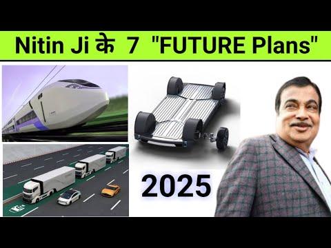 "Delhi-Mumbai ELECTRIC Ex. ""Manufacturing Superpower"" by 2025 🔥 Nitin Gadkari's ""FUTURE VISION"""