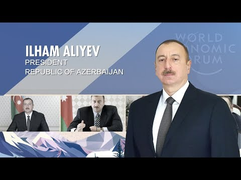 Azerbaijani president in the spotlight at WEF 2019