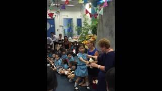 Kindergarten graduation (ESF Tsing Yi)