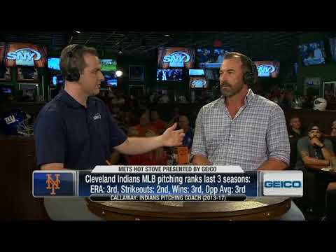 Mickey Callaway stops by SNY's Mets Hot Stove, Live from Duffy's