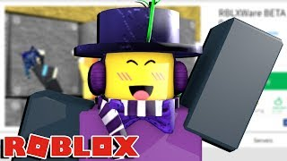this is THE FUNNEST game in ROBLOX... no questions.