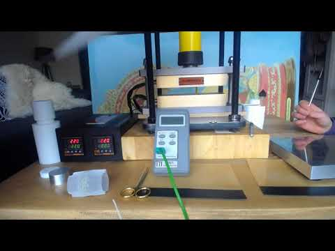 How To Achieve high Yield When Pressing Rosin By Dabpress Rosin Caged Cube Kit
