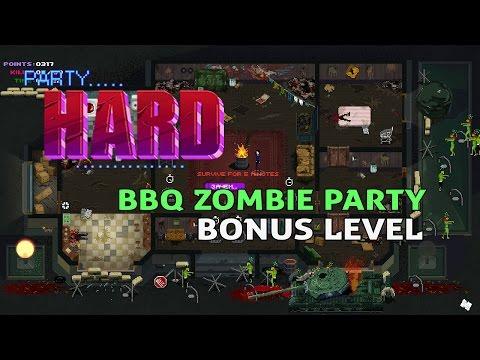 BBQ ZOMBIE PARTY (Bonus)   PARTY HARD  